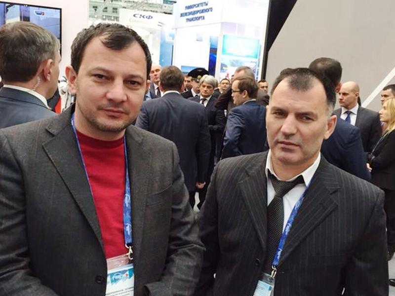 Министр Р.С-Э. Черхигов на VIII Международном форуме «Транспорт России»