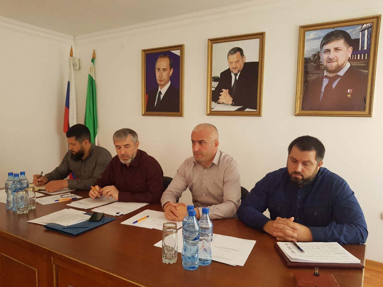 Межведомственная рабочая группа приступила к изучению инвестиционного потенциала Ножай-Юртовского муниципального района ЧР