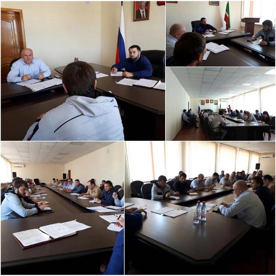 Межведомственная рабочая группа продолжает работу по социально-экономическому развитию Ножай-Юртовского района