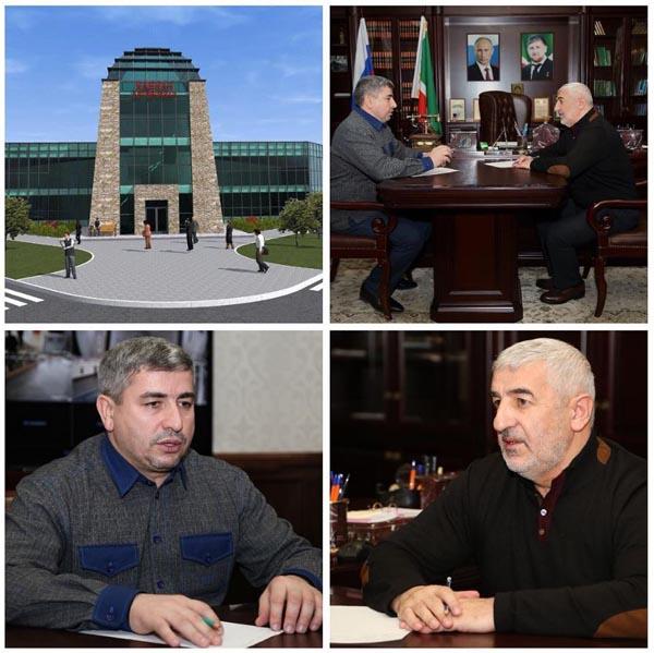 Рабочая встреча в администрации Гудермесского района