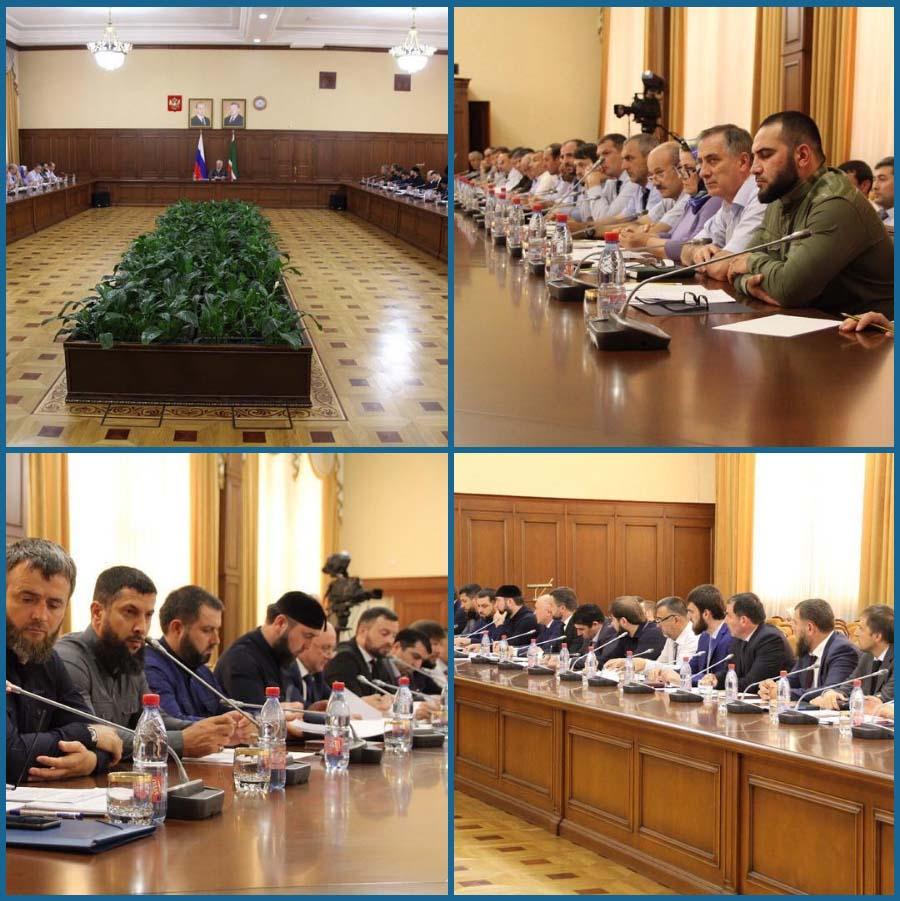 В Грозном обсудили вопросы социально-экономического развития Ножай-Юртовского района