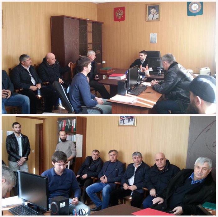 Заседание рабочей группы антитеррористической комиссии