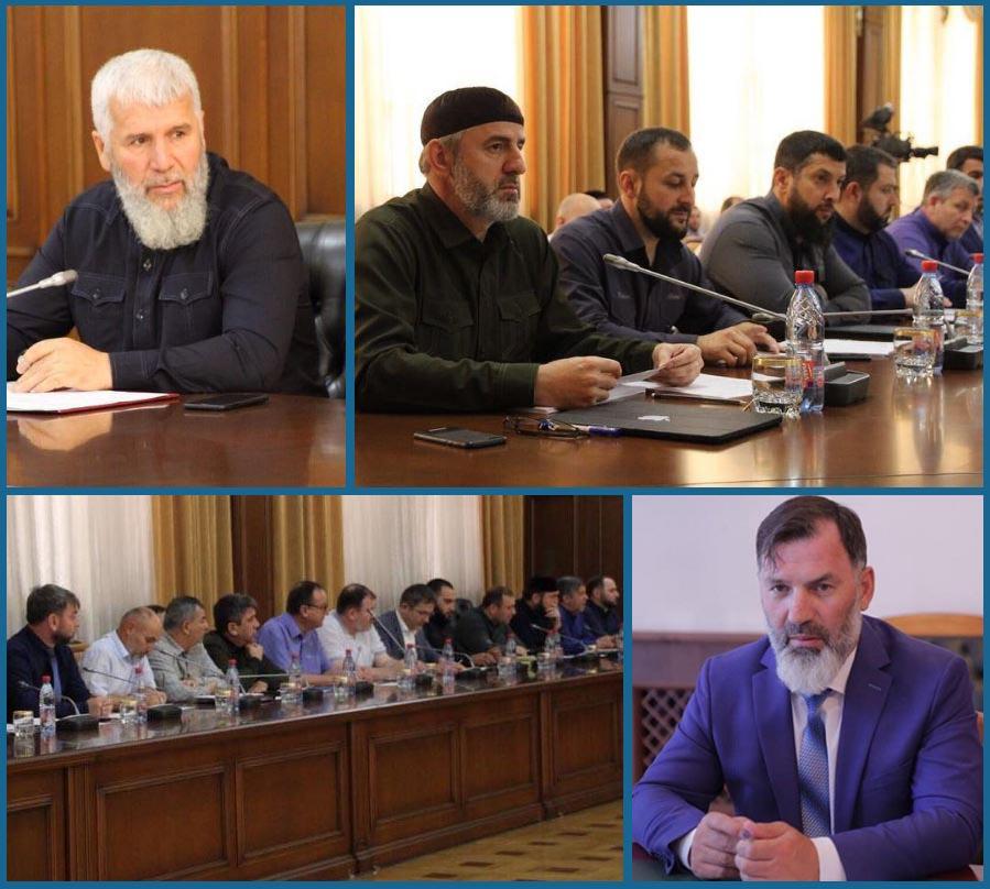 В Грозном очередной раз обсудили вопросы социально-экономического развития Ножай-Юртовского района