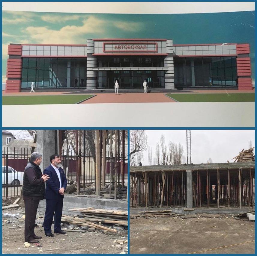 В Грозном скоро появится новый автовокзал