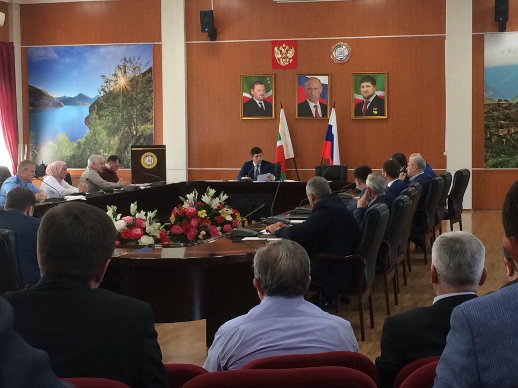 Заседание в Министерстве финансов ЧР