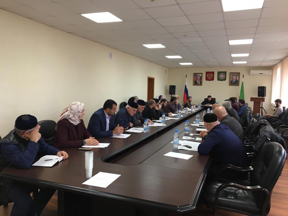 Прошло совещание под председательством заместителя Председателя Правительства Чеченской Республики Х.С. Хакимова