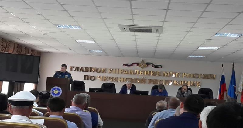 Расширенное заседание межведомственной рабочей группы Чеченской Республики по внедрению и развитию технических средств аппаратно - программного комплекса «Безопасный город»