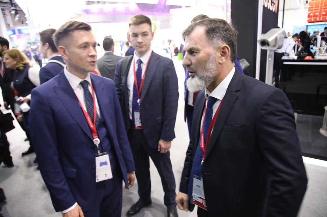 Встреча с министром цифрового развития, связи и массовых коммуникаций Российской Федерации Константином Юрьевичем Носковым