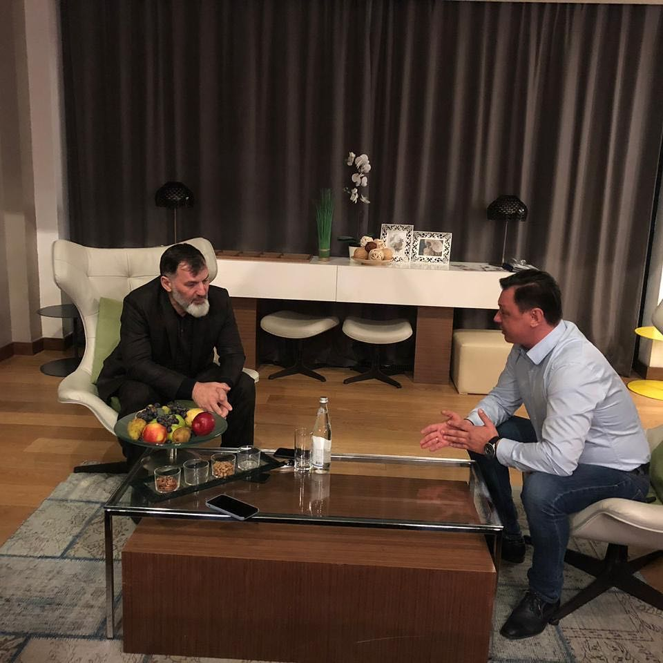 Рабочая встреча с Региональным директором Южного региона компании «Вымпелком» Сергеем Афониным